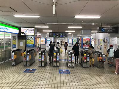 アイブリング八尾店 近鉄八尾駅からの道順1