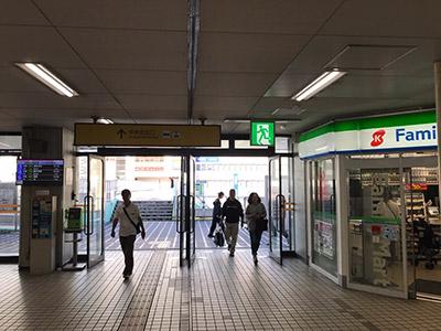 アイブリング八尾店 近鉄八尾駅からの道順2