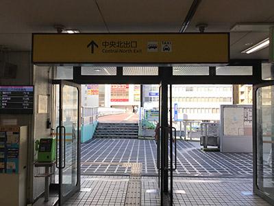 アイブリング八尾店 近鉄八尾駅からの道順3